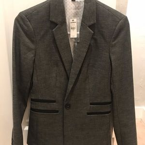 Gray blazer from Express, size 4. Brand new!